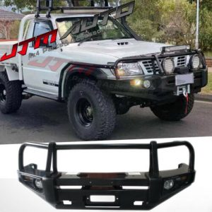ADR APPROVED BULL BAR WINCH BAR To Suit Nissan Patrol Y61 GU 1-3