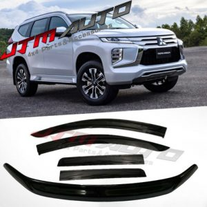 Bonnet Protector + Weathershields to suit Mitsubishi Pajero Sport QF 2019-2021