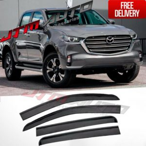 Injection Weathershields Weather Shields to suit Mazda BT-50 BT50 TF 2020+ MY21