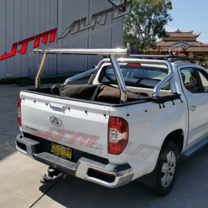 Universal Stainless Steel Ladder Rack Roll Bar To suit LDV T60 T-60