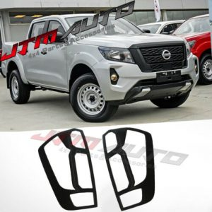 MATT Black Tail Light Cover Trim to suit Nissan Navara NP300 D23 SL 2021+