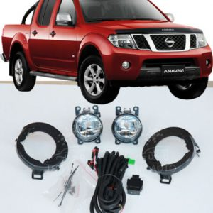 Driving/ Fog Lights Lamps Complete Kit to suit Nissan Navara D40 2005-2014