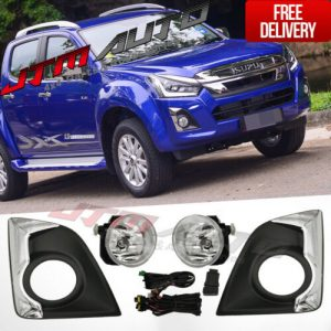 Driving/Fog Lights Lamps Complete Kit to suit Isuzu D-max Dmax 2016-2020