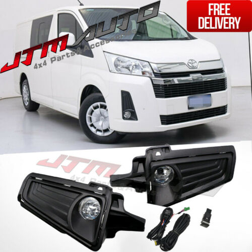 Driving/Fog Lights Lamps Complete Kit to suit Toyota Hiace H300 2019+