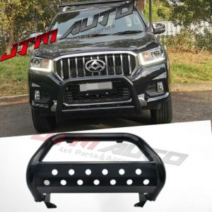 "Nudge Bar 3"" Black Steel Grille Guard to suit LDV T60 T-60 2017-2021"
