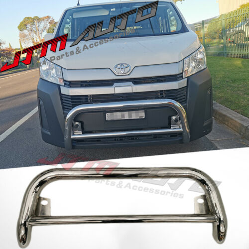 """Nudge Bar 3"""" Stainless Steel Grille Guard to suit Toyota Hiace LWB 2019+"""