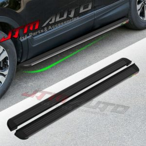 Black Aluminium Running Board Side Steps to suit Honda CRV 2017 M18+