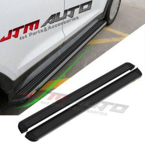Black Aluminium Running Board Side Steps to suit Hyundai Tucson TL 2015-2020