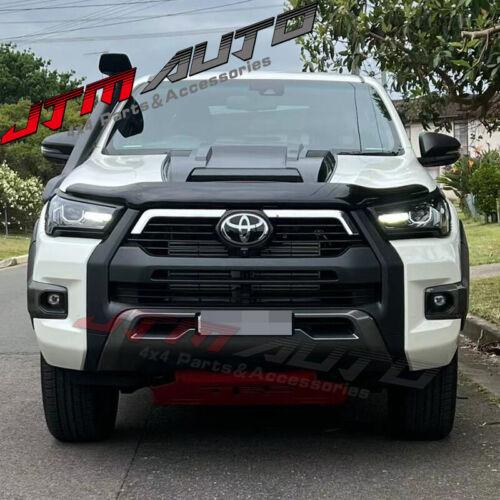 Matt Black Bonnet Scoop Hood Raptor Style to suit Toyota Hilux N80 2020+