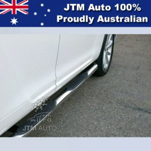 """Running Board Side Steps 3"""" Stainless Steel Suitable For Toyota Kluger 2007-2013"""