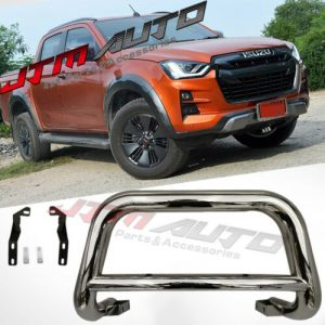 """Nudge Bar 3"""" Stainless Steel Grille Guard to suit Isuzu D-max Dmax 2020+ MY21"""