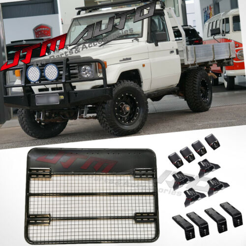 Heavy Duty Roof Rack Cage to suit Toyota Landcruiser 70 75 79 Series 900x1250mm