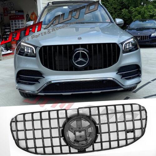 Gloss Black GT Bumper Grille Grill to suit Mercedes-Benz GLS X167 GLS450 GLS450D