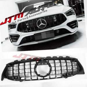 Gloss Black GT Bumper Grille Grill to suit Mercedes-Benz CLA X118 C118 & CLA35