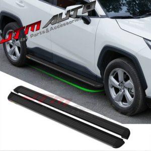 Black Aluminium Running Board Side Steps to suit Toyota Rav4 XA50 2019+