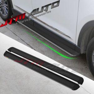 Black Aluminium Running Board Side Steps to suit Mazda CX-5 KF 2017+