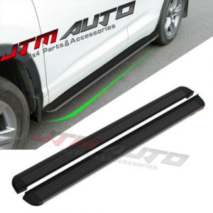 Black Aluminium Running Board Side Steps to suit Toyota Kluger XU50 2013-2020