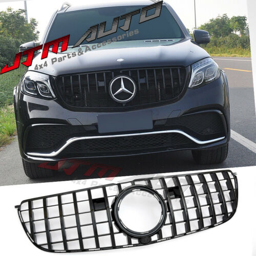 Gloss Black GT Bumper Grille Grill to suit Mercedes-Benz GLS Class X166