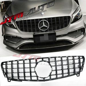 Gloss Black GT Bumper Grille Grill to suit Mercedes-Benz A-Class W176 2016-2018
