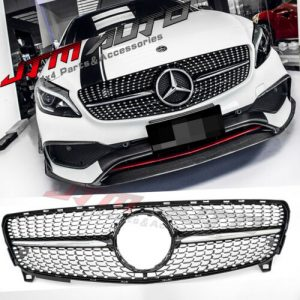 Diamond Chrome Grill Grille to suit Mercedes Benz A-Class W176 2016-2018