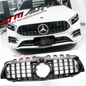 Gloss Black GT Bumper Grille Grill to suit Mercedes-Benz A-Class W177 V177