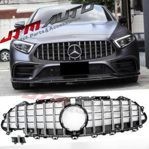 Chrome Black GT Style Grill Grille to suit Mercedes Benz CLS W257 C257 2018+