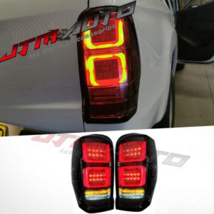 Smoked Full Sequential Led Tail Lights to suit Mitsubishi Triton MR 2019+