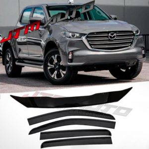 Bonnet Protector + Weather Shields to suit Mazda BT-50 BT50 TF JULY 2020+ MY21