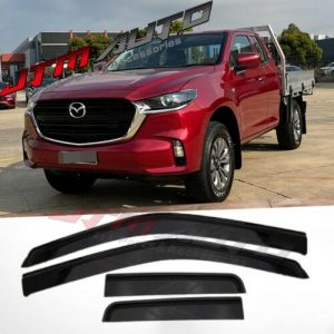 Weather shields Window Visors to suit Mazda BT-50 BT50 TF Freestyle Cab 2020+