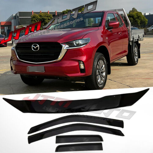 Bonnet Protector + Weather Shields for Mazda BT-50 BT50 Freestyle Cab 2020+ MY21