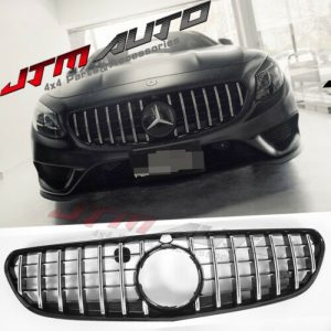Chrome Black GT Style Grill Grille to suit Mercedes Benz S-Class C217 S217 Coupe