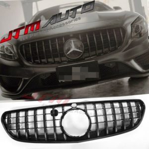 Gloss Black GT Style Grill Grille to suit Mercedes Benz S-Class C217 S217 Coupe