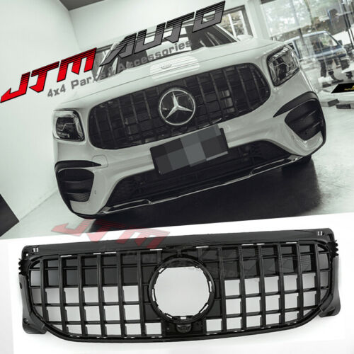 Gloss Black GT Bumper Grille Grill to suit Mercedes-Benz GLB X247 GLB200 GLB250