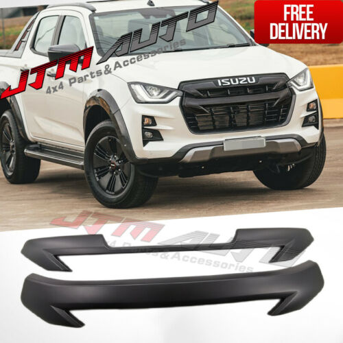 Black Grille Grill Cover Trim to suit Isuzu D-Max D-max 2020+ MY21