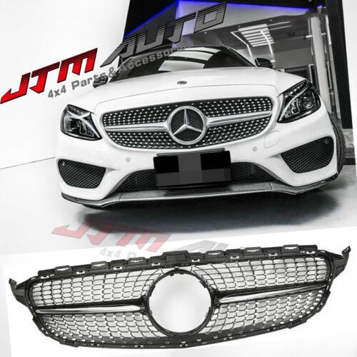 Dimond Chrome Grill Grille to suit Mercedes C-Class W205 C205 C43 15-18