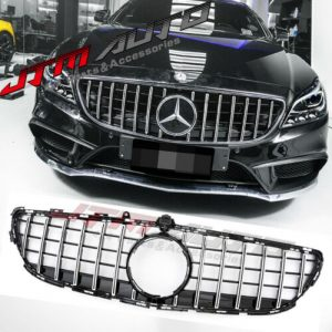 Chrome Black GT Style Grill Grille to suit Mercedes Benz CLS W218 C218 2015-2018
