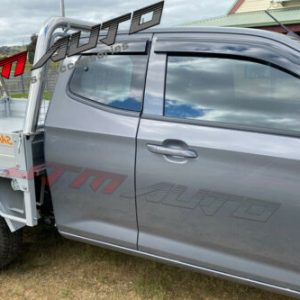 Injection Weather shields Window Visors to suit Isuzu D-max Dmax Extra Cab 2020+
