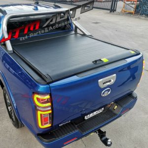 Alloy Roller Shutter Tonneau Hard Lip with LED suitable for GWM Cannon 2020+