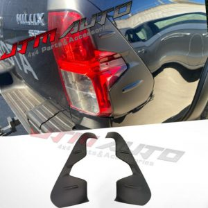 MATT Black TRD Style Tail Light Cover to suit Toyota Hilux 2015-2020