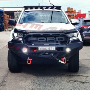 T-TEK Steel Bull Bar Winch Compatible to suit Ford Ranger PX2 PX3 2015-2021